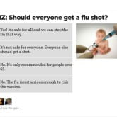Influenza.  I've created a quiz.