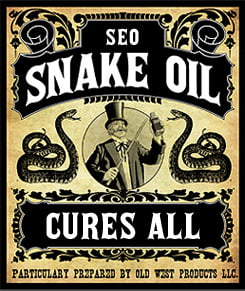 Mercola - snake oil salesman